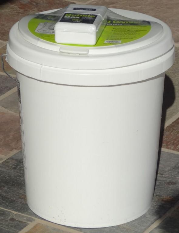 Aeration buckets aquaponics and earth for Aquaponics aeration